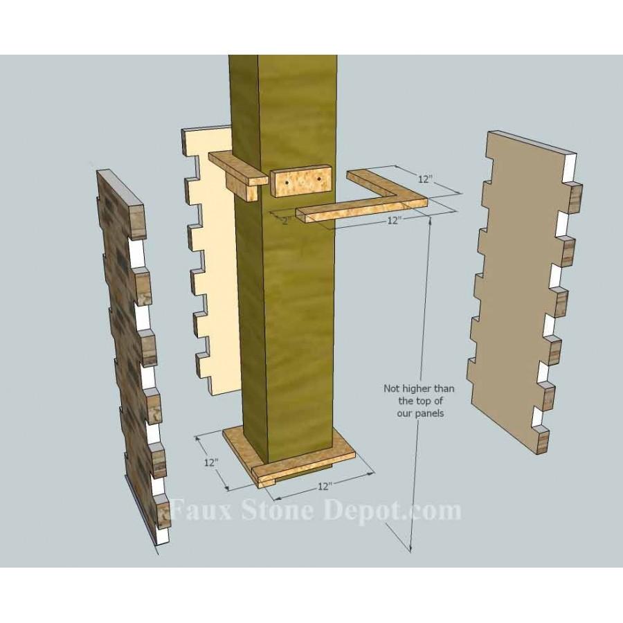 Interior Colum Design Home Design Idea