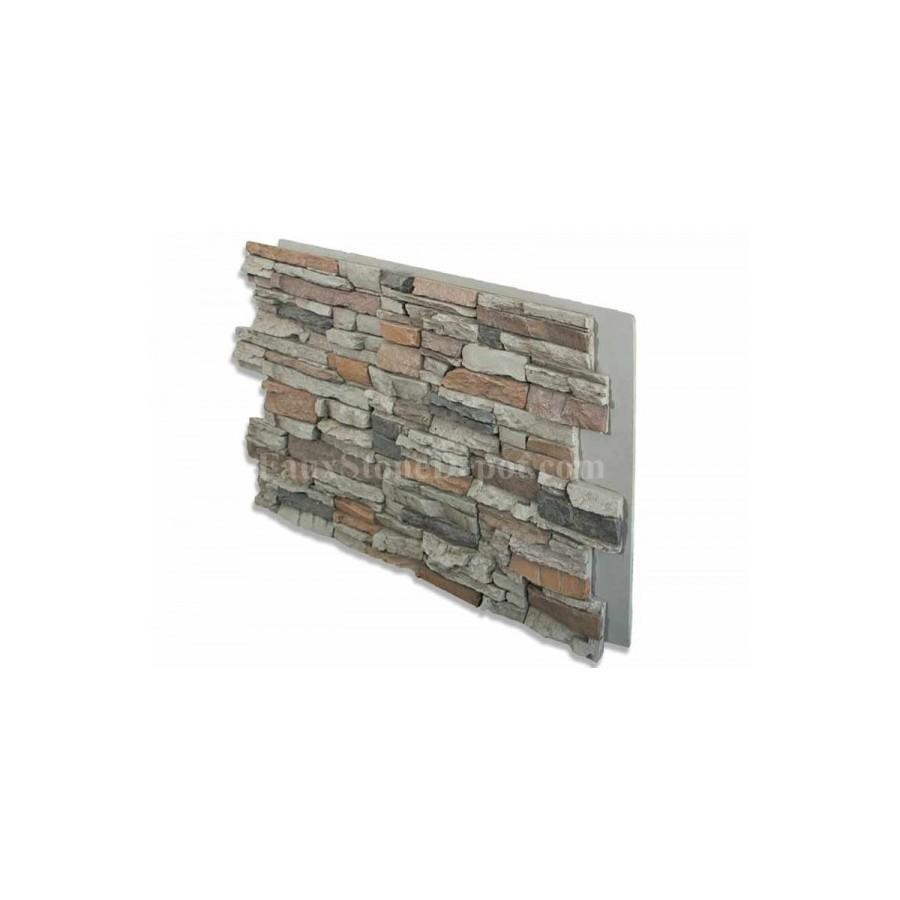 Fake Stone Panels 24x48 Grey