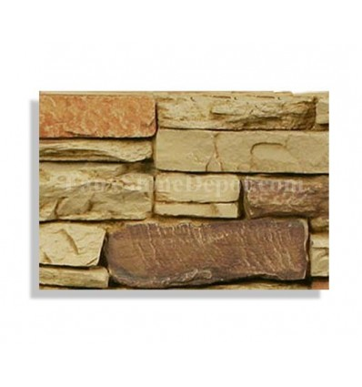 Stacked Stone Sample - Sand - With Rebate - Free Standard Shipping
