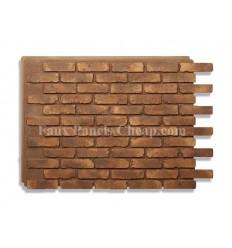 Rustic Faux Brick - Russet