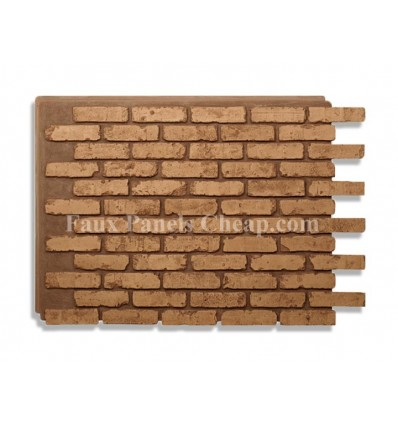 Rustic Faux Brick - Brown