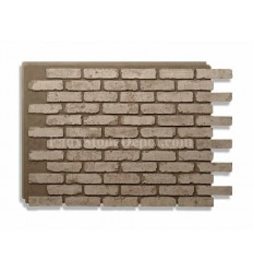 Rustic Faux Brick - Gray