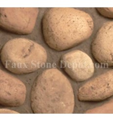 River Rock Sample - Beige