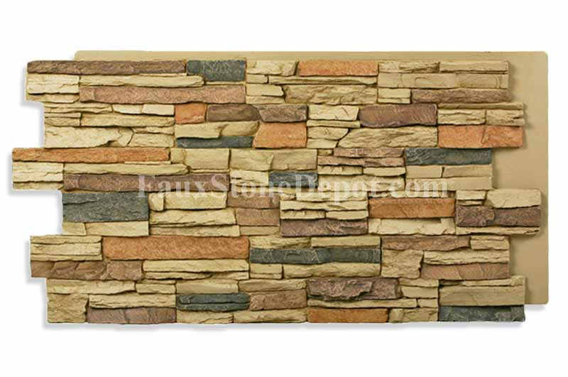 Imitation faux stone sheets