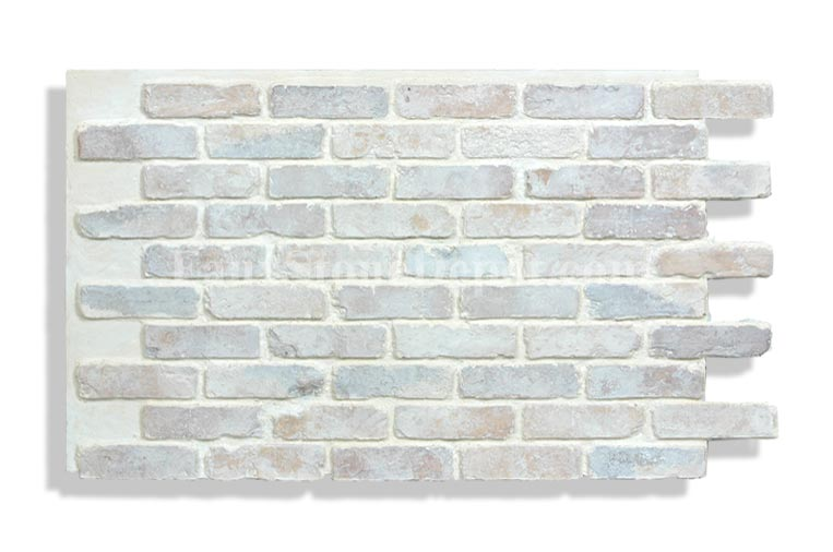 Instructions for faux brick paneling installation