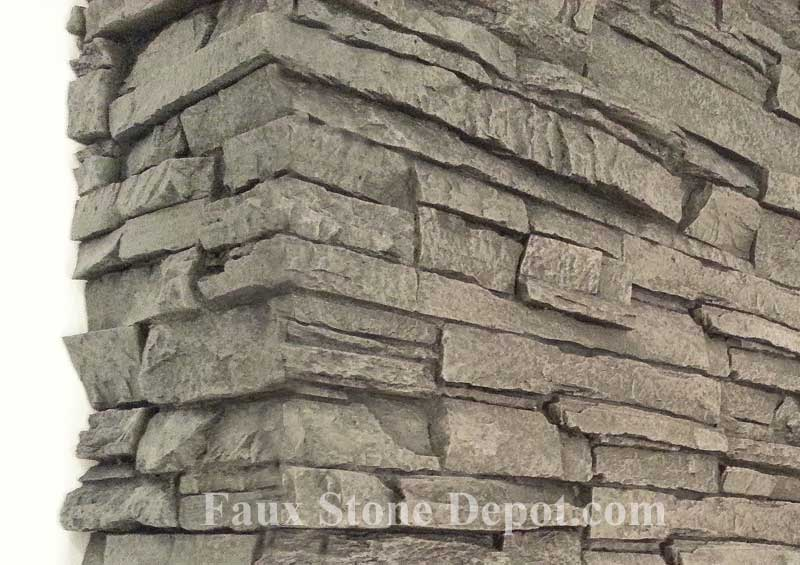 Great imitation stone closeup