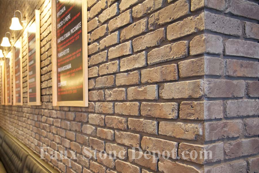 Commercial Example Of Brick Panels In Taupe