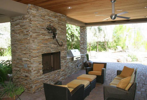 Exterior Design | The Blog On Cheap Faux Stone Panels