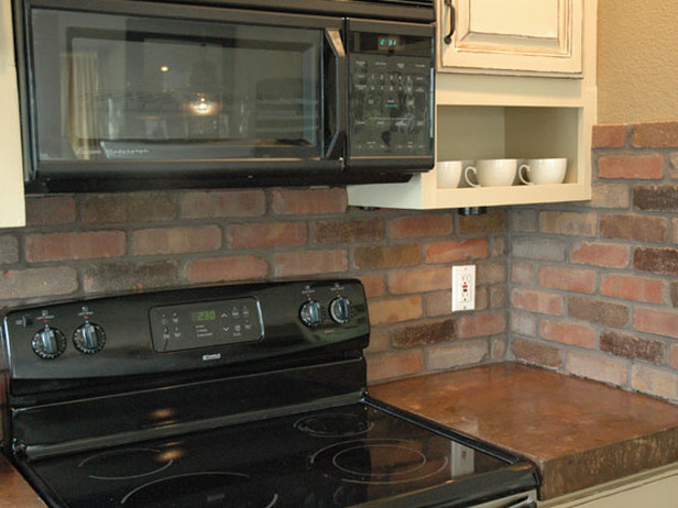 kitchen backsplash options | the blog on cheap faux stone panels