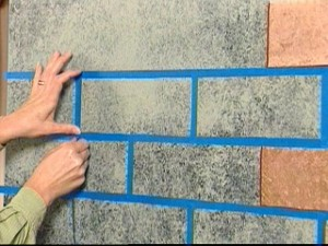 painting brick patterns