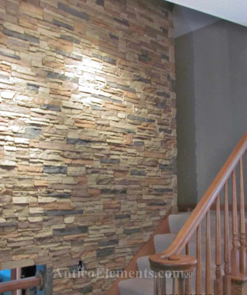 Fake Stone Wall The Blog On Cheap Faux Panels