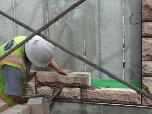stone mortaring and construction