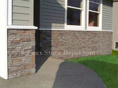 Mobile Home Skirting | The Blog On Cheap Faux Stone Panels