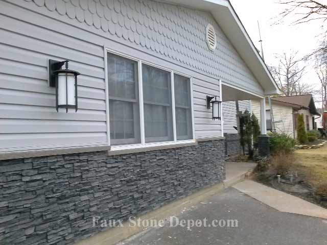 Mobile Home Skirting The Blog On Cheap Faux Stone Panels