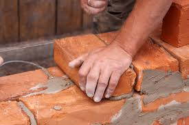 Old fashioned Brick Laying