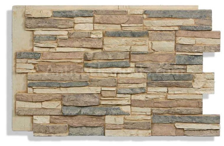 Laguna faux stone panel cappuccino