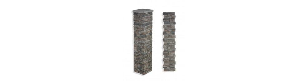 """Stone Column Wraps 73"""""""
