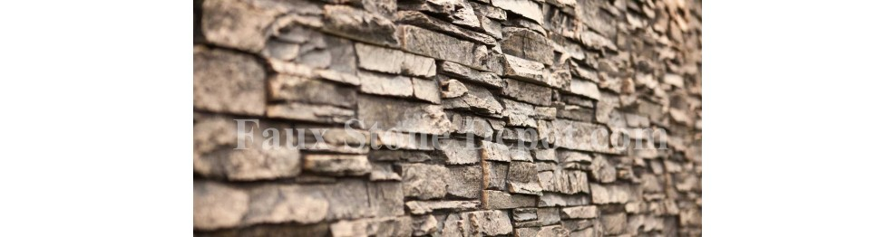stacked stone panels