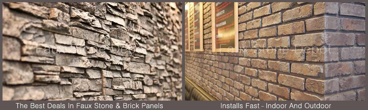 Faux Stone Panels Faux Brick Stacked Stone Veneer Siding Faux