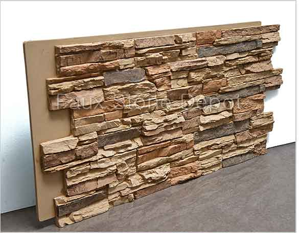 gallery for faux stone wall panels home depot