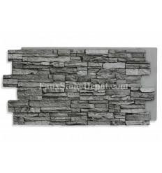 Stacked Stone Panel 24x48 - Slate