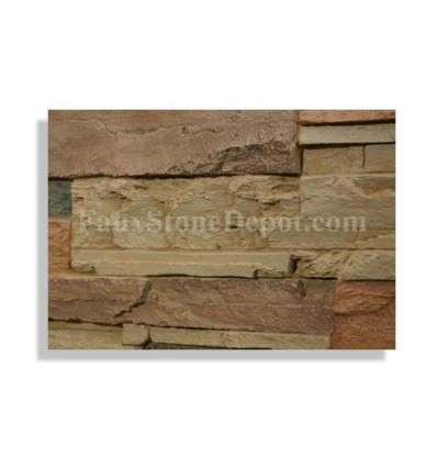 Ledge Stone Sample - Sand - With Rebate - Free Standard Shipping
