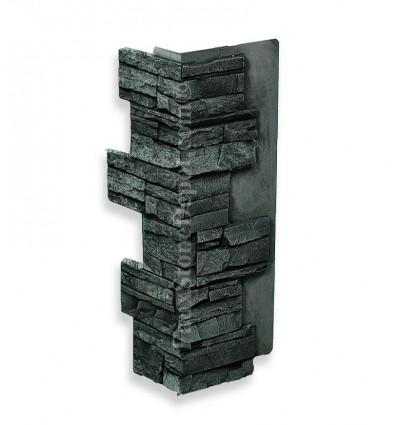 Interlocking Outside Corner - For Charcoal Panels