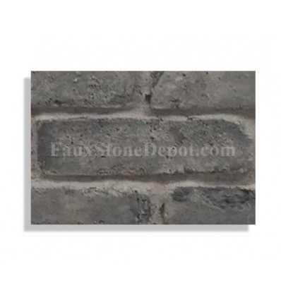 "Brick Sample For 28"" Panels - Charcoal - With Rebate - Free Standard Shipping"