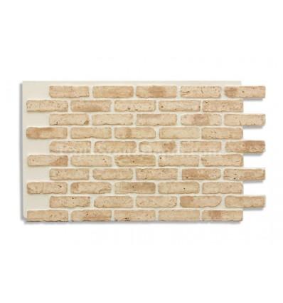 """28"""" Faux Brick Panel - Tan"""