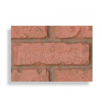 "Brick Sample For 28"" Panels - Red - With Rebate - Free Standard Shipping"