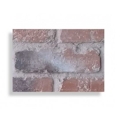 "Brick Sample For 28"" Panels - Ch. Red Light Grout - With Rebate - Free Standard Shipping"