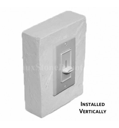 Outlet Trim Box For Laguna White