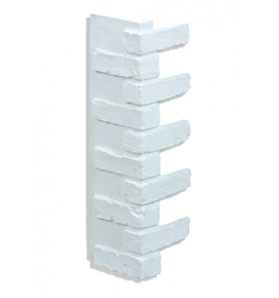 Outside Corner For 28in Brick White