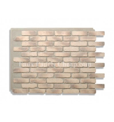 Rustic Faux Brick - Wheat