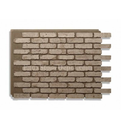 Rustic Faux Brick - Gray