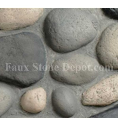 River Rock Sample - Gray