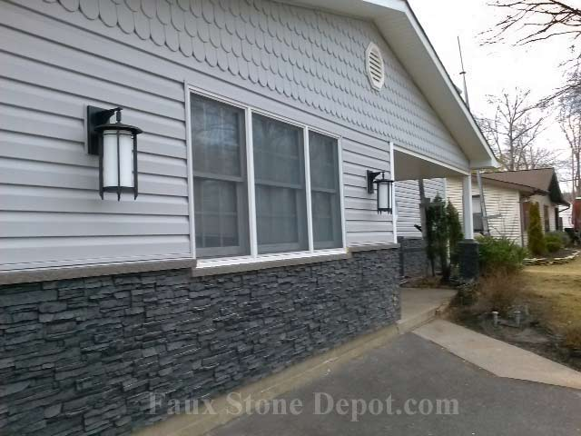 Faux Siding Panels