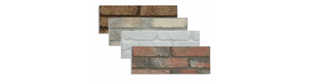 Faux Brick Samples For 28 Inch Panels